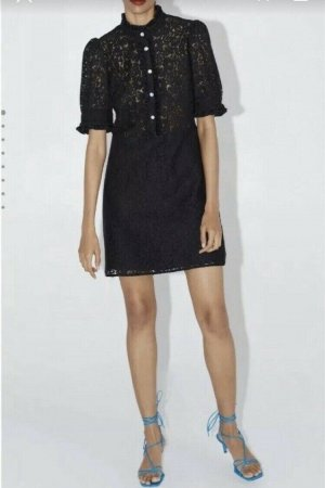Zara Spitzen Kleid Little black dress