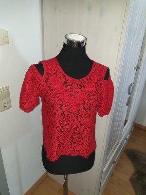 Zara Spitzen Shirt