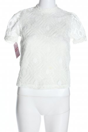 Zara Lace Blouse white casual look