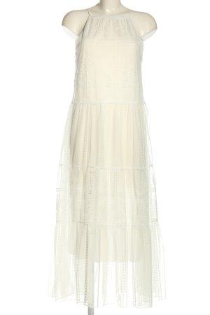 Zara Spitzenkleid weiß Elegant