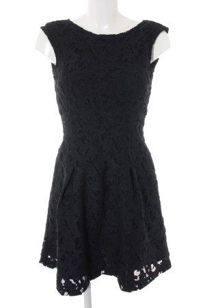 Zara Spitzenkleid dunkelblau Elegant