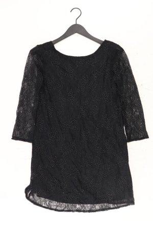 Zara Spitzenkleid Größe XS mit Blumenmuster Langarm schwarz