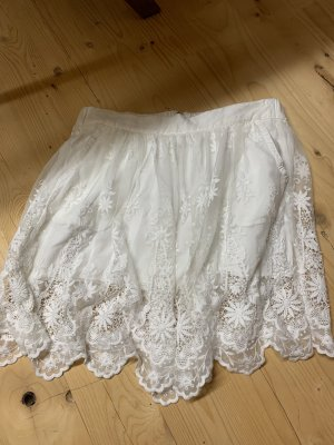 Zara Lace Skirt white