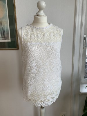Zara Lace Top white
