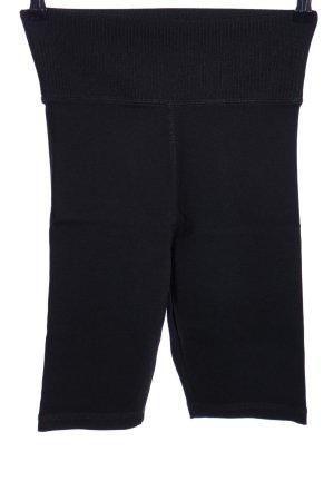 Zara Sportshorts schwarz schlichter Stil