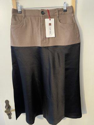 Zara Maxi Skirt brown-black