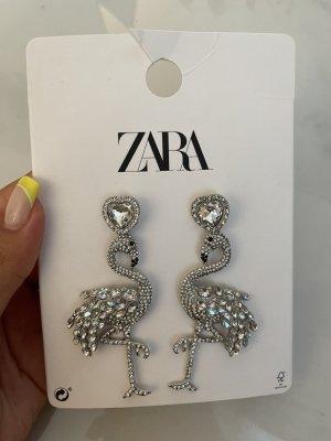 Zara Statement oorbellen zilver