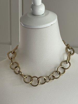 Zara statement Gliederkette Kette gold blogger ausverkauft