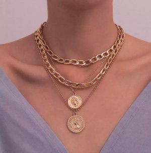 Zara Link Chain gold-colored
