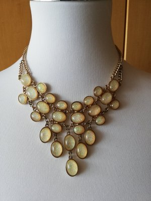 Zara Statement Kette Collier opalescent