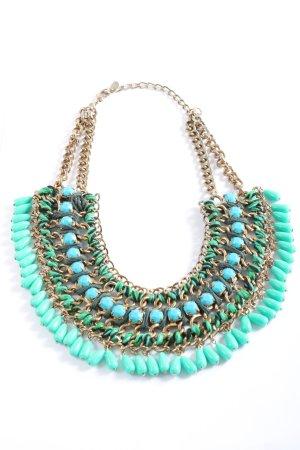 Zara Statementkette mehrfarbig Casual-Look