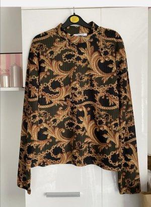 Zara Turtleneck Shirt multicolored