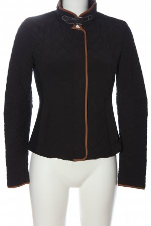 Zara Steppjacke braun Steppmuster Casual-Look