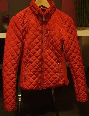 Zara Gewatteerd jack rood