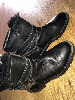 Zara Botas bajas negro