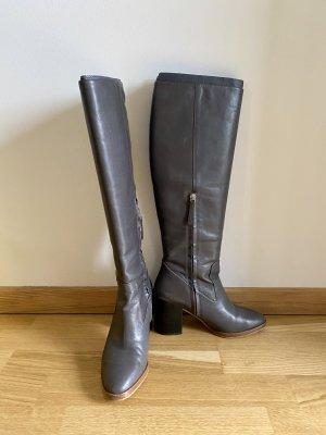 Zara Stiefel aus hochwertigen Leder