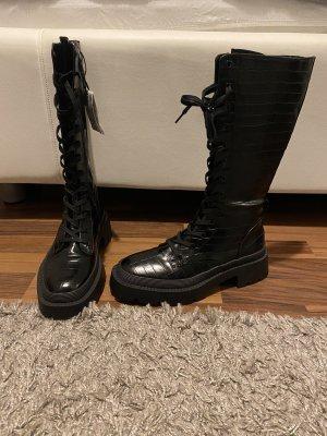 Zara Stiefel Boot 38 schwarz neu