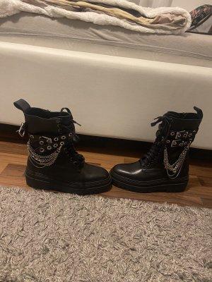 Zara Stiefel Boots schwarz 38 neu