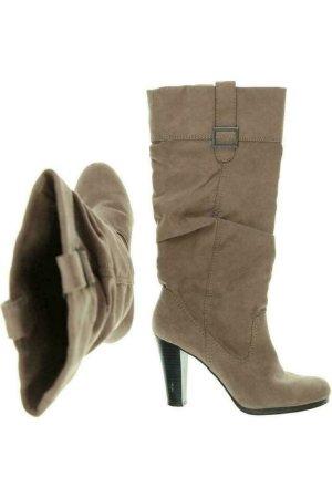 ZARA Stiefel Damen Boots Gr. DE 38 Beige