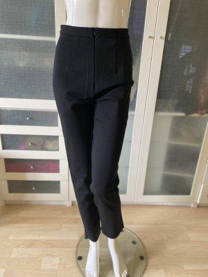 Zara Woman Strapped Trousers black