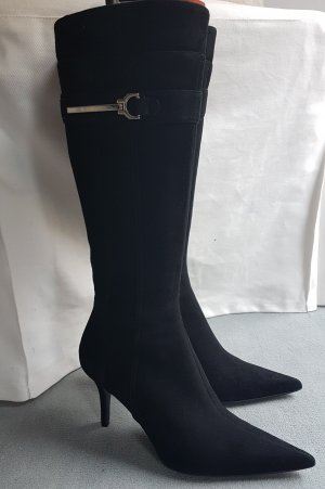 ZARA Stiefel (Wildlederlook)