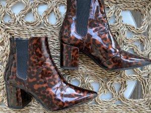 Zara Slip-on Booties multicolored