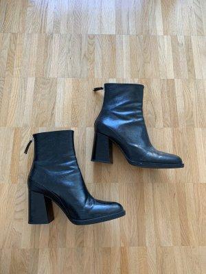 Zara Stiefelette in schwarz