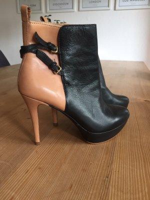 Zara Stiefeletten; Ankle Boots, Leder, Gr. 40