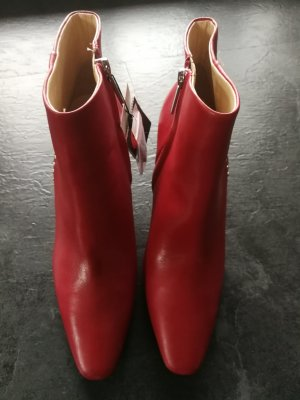 Zara Stiefeletten Leder neu mit Etikett