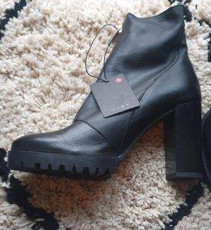 Zara Stiefeletten Schuhe schwarz 37 Neu