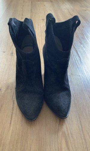 Zara Stiefeletten schwarz