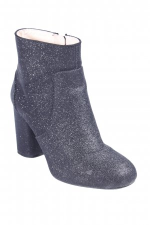Zara Stivaletto nero con glitter
