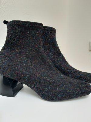 Zara Trafaluc Slouch Booties multicolored spandex