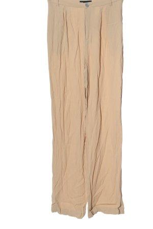 Zara Spodnie materiałowe nude W stylu casual