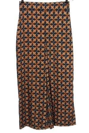 Zara Stoffhose abstraktes Muster Elegant