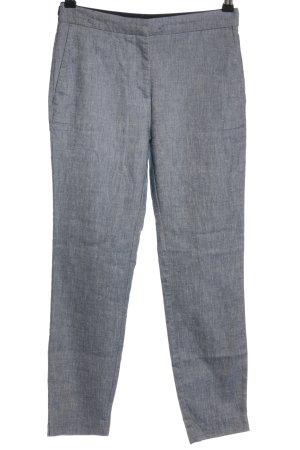 Zara Stoffen broek blauw-wit gestippeld casual uitstraling