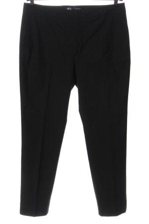 Zara Pantalon en jersey noir style d'affaires
