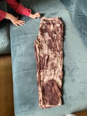 Zara Premium pantalón de cintura baja multicolor