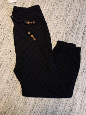 Zara Pantalón estilo Harem negro
