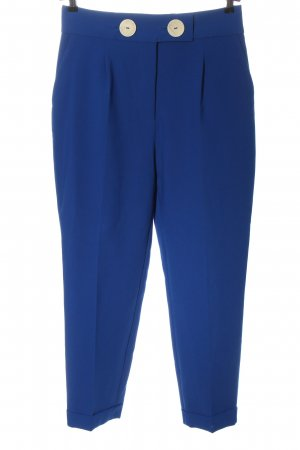 Zara Stoffhose blau Business-Look
