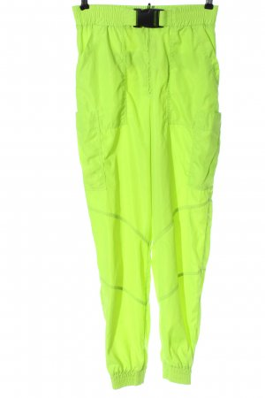 Zara Stoffhose grün Casual-Look