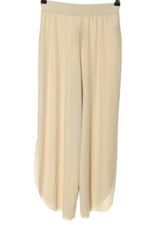 Zara Stoffhose creme Casual-Look