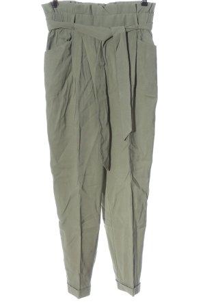 Zara Pantalon en jersey gris clair style décontracté