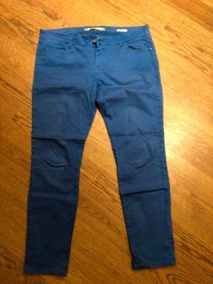 Zara Stoffhose, blau, Größe 40