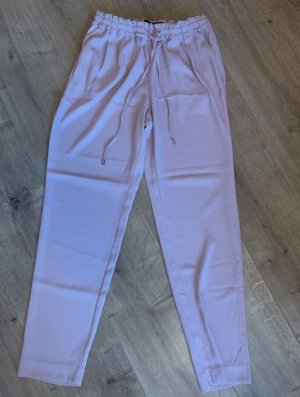 Zara Falda pantalón de pernera ancha rosa claro