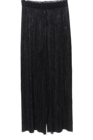 Zara Pantalon en jersey noir style décontracté