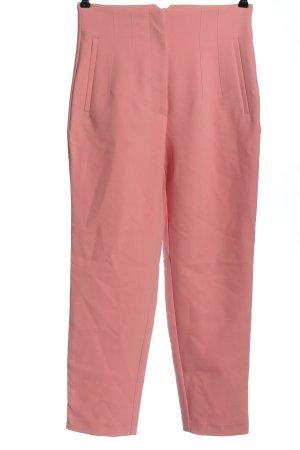 Zara Stoffhose pink Casual-Look