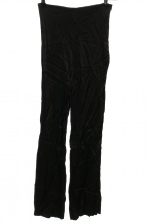 Zara Stoffhose schwarz klassischer Stil