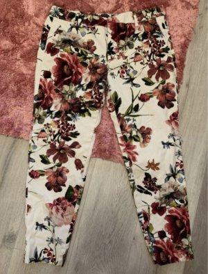 Zara Stoffhose *Floral* NEU 42