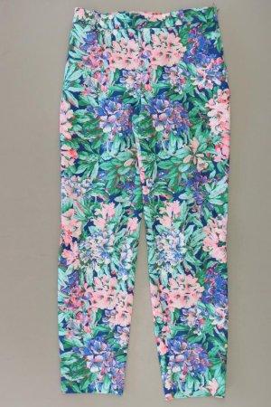 Zara Stoffhose Größe S mit Blumenmuster mehrfarbig